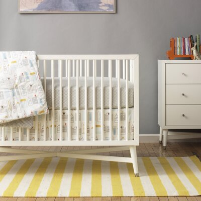 Skyline Nursery Bedding Collection-Skyline Bumper