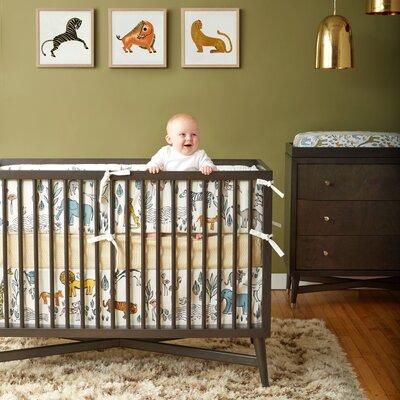 Safari Nursery Bedding Collection-Safari Bumper image