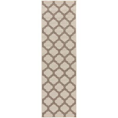 Alfresco Hand-Woven Beige / Taupe Outdoor Area Rug Rug Size: Runner 23 x 119