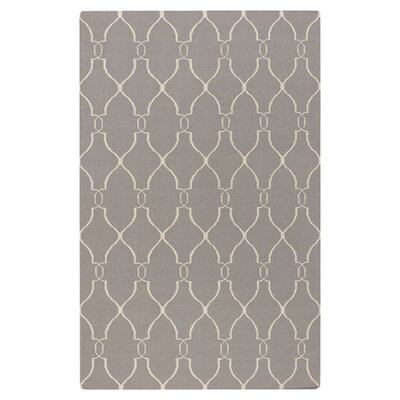 Hand Woven Taupe Rug Rug Size: Rectangle 9 x 13