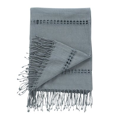 Raw Silk Mist Throw image