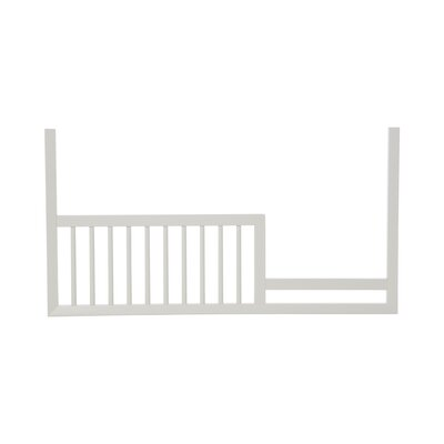 Mid-Century French White Toddler Rail image