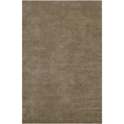 Frick Hand Knotted Area Rug Rug Size: 5 x 8