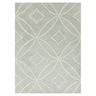 Carty Gray Rug Rug Size: 9 x 12