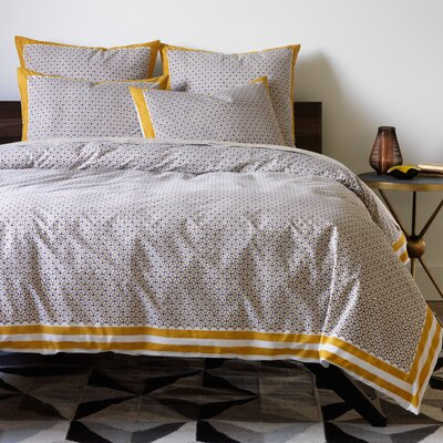 Lucca Duvet Cover Size: King