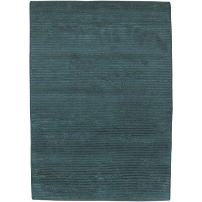 Gilkey Teal Area Rug Rug Size: 5 x 8