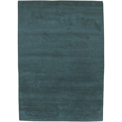 Shisler Teal Area Rug Rug Size: 5 x 8