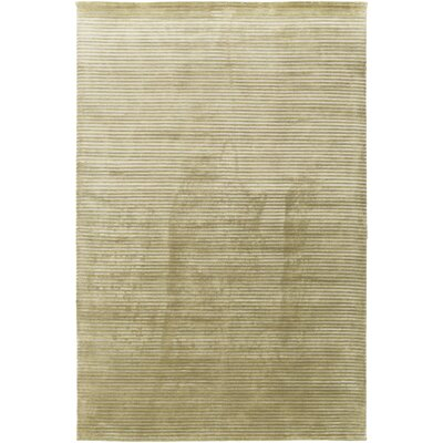 Mugal Ivory/Taupe Solid Area Rug Rug Size: Rectangle 5 x 8