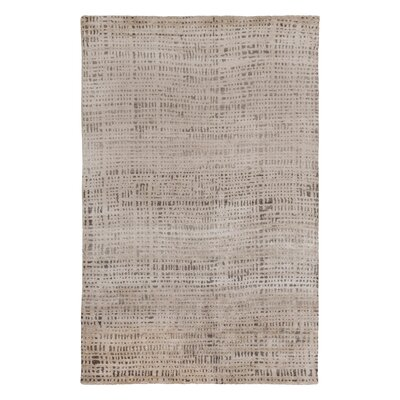 Baxter Hand Knotted Cinder Area Rug Rug Size: Rectangle 6 x 9