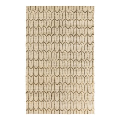 Tile Hand Knotted Brindle Area Rug Rug Size: Rectangle 6 x 9