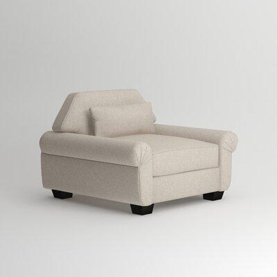 Kravitz Lounge Chair Upholstery: Bliss Linen
