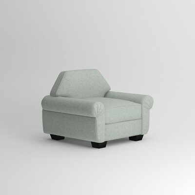 Kravitz Occasional Armchair Upholstery: Nobletex Rain