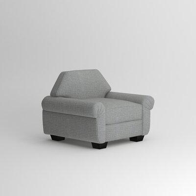 Kravitz Occasional Armchair Body Fabric: Nobletex Platinum