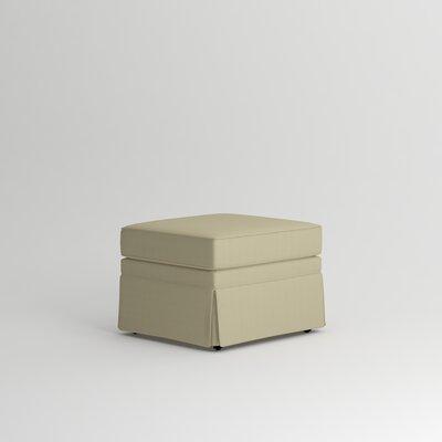 Bellamy Ottoman Upholstery: Lizzy Linen