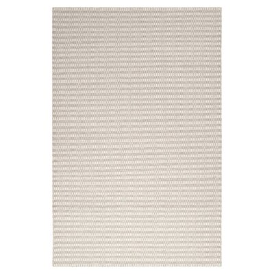 Ravena Feather Gray/Ivory Striped Rug Rug Size: Rectangle 33 x 53
