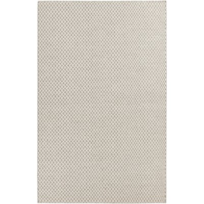 Somerville Taupe & Winter White Rug Rug Size: 33 x 53