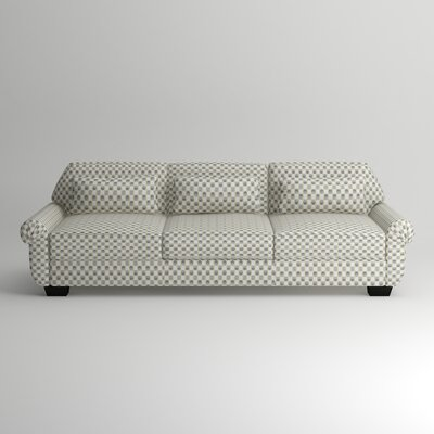 Kravitz Sofa Body Fabric: Abby Charcoal