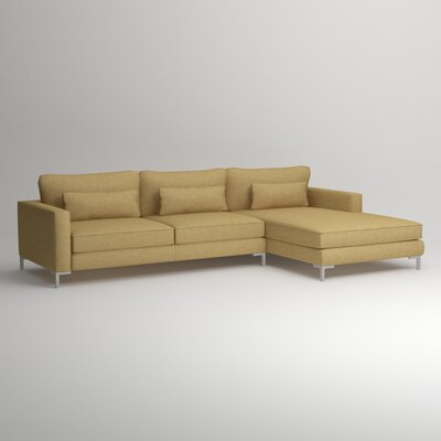 DwellStudio DWL9047 31631172 Spencer Right Chaise Sectional Finish