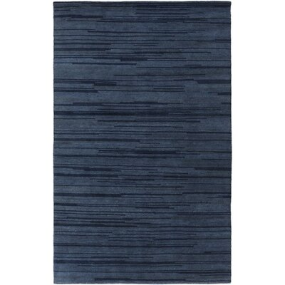 Gradience Navy Area Rug Rug Size: Rectangle 5 x 8