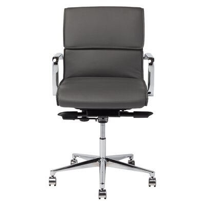 High-Back Office Chair with Arms Color: Dark Gray Product Photo 44