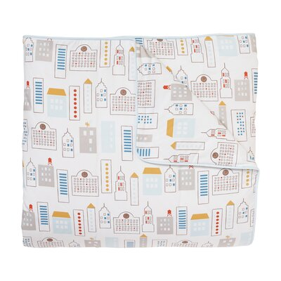 Skyline Duvet Cover Set Size: Twin