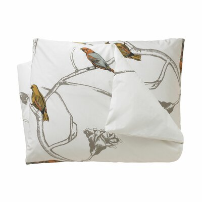 Chinoiserie Duvet Cover Size: King