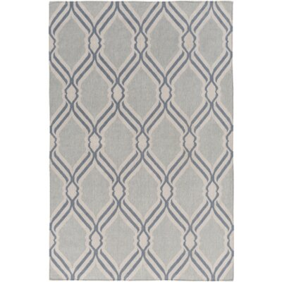 Gray Area Rug Rug Size: Rectangle 4 x 6