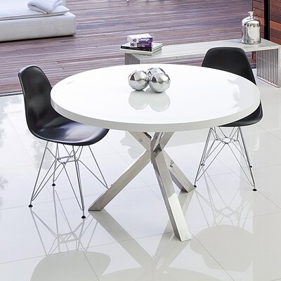 Eve Dining Table Finish Alabaster