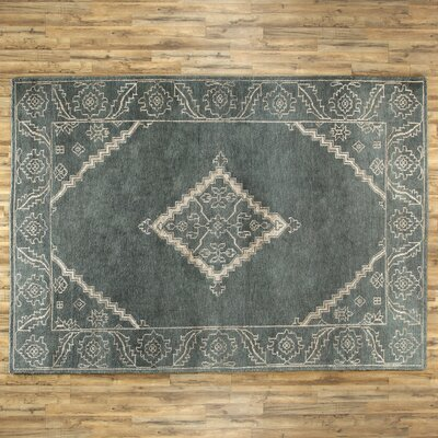 Rambla Rug in Slate/Ivory Rug Size: 5 x 8