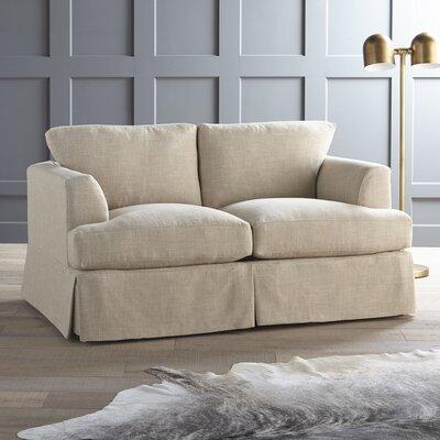 Warner Loveseat Upholstery: Zula Rawhide
