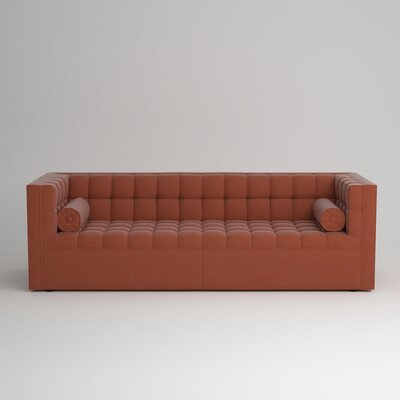 Langford Chesterfield Sofa Upholstery: Hermes Peppermint