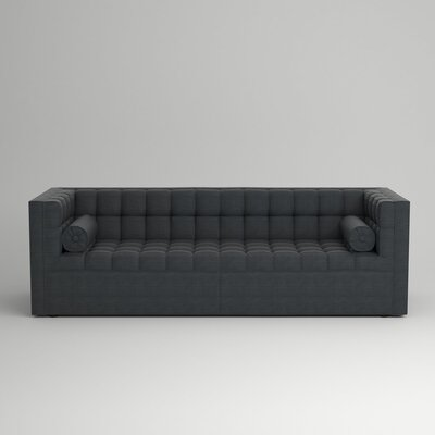 Langford Chesterfield Sofa Upholstery: Empire Shadow