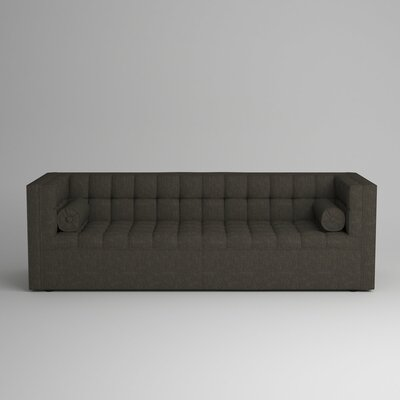 Langford Chesterfield Sofa Upholstery: Zula Charcoal