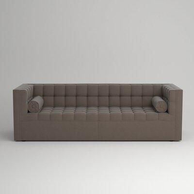Langford Chesterfield Sofa Upholstery: Hermes Seal