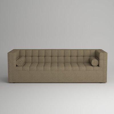 Langford Chesterfield Sofa Upholstery: Zula Linen