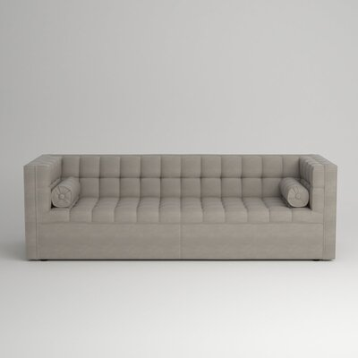 Langford Chesterfield Sofa Upholstery: Empire Dove