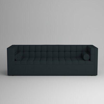 Langford Chesterfield Sofa Upholstery: Zula Navy