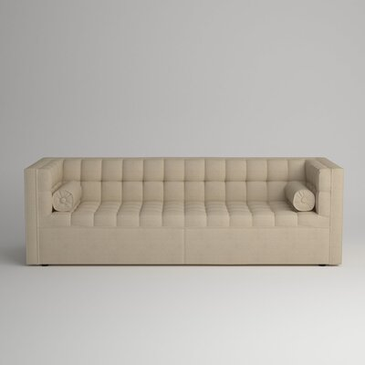 Langford Chesterfield Sofa Upholstery: Devon Sand
