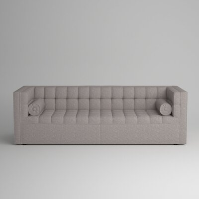 Langford Chesterfield Sofa Body Fabric: Zula Pumice