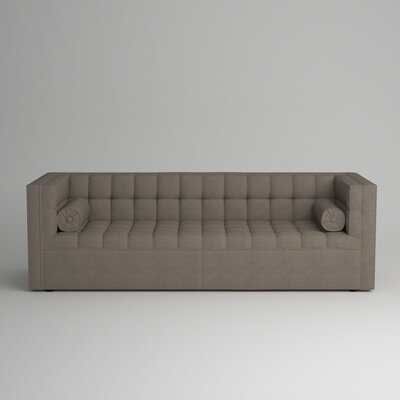 Langford Chesterfield Sofa Upholstery: Devon Heather