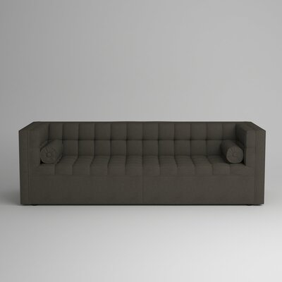 Langford Chesterfield Sofa Upholstery: Devon Pewter