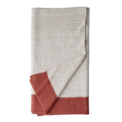 Ginger Marled Knit Throw