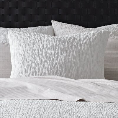 Woodgrain Coverlet Sham Size: King