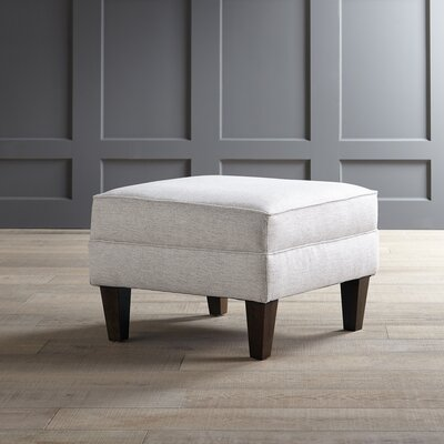 Wainwright Ottoman Fabric: Nobletex Platinum