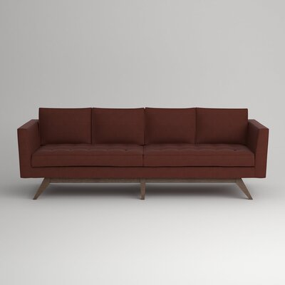 Fairfax Sofa Upholstery: Empire Cinnabar