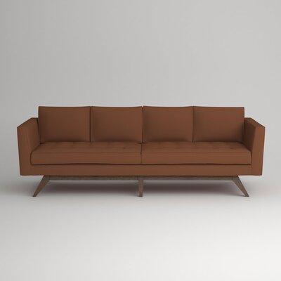 Fairfax Sofa Upholstery: Nobletex Russet