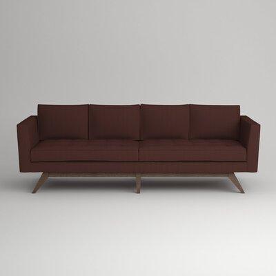 Fairfax Sofa Upholstery: Zula Oxblood