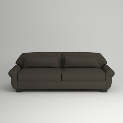 Kravitz Two-Seater Sofa Finish: Ebony, Upholstery: Zula Charcoal