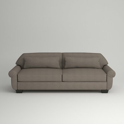 Kravitz Two-Seater Sofa Finish: Ebony, Upholstery: Devon Heather