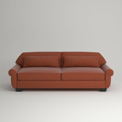 Kravitz Two-Seater Sofa Finish: Ebony, Upholstery: Hermes Peppermint